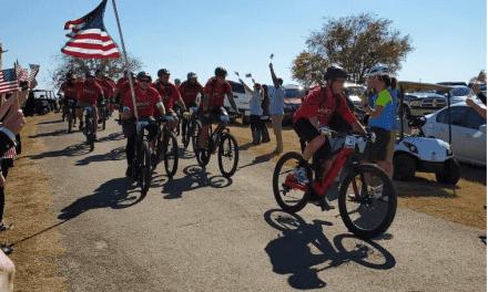 Starkey Sponsors 2019 Bush Institute W100K Bike Race