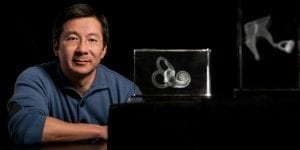 Alan Cheng and his colleagues were able to regenerate hair cells inside the ears of mice—a first in mature mammals. Photo: Steve Fisch