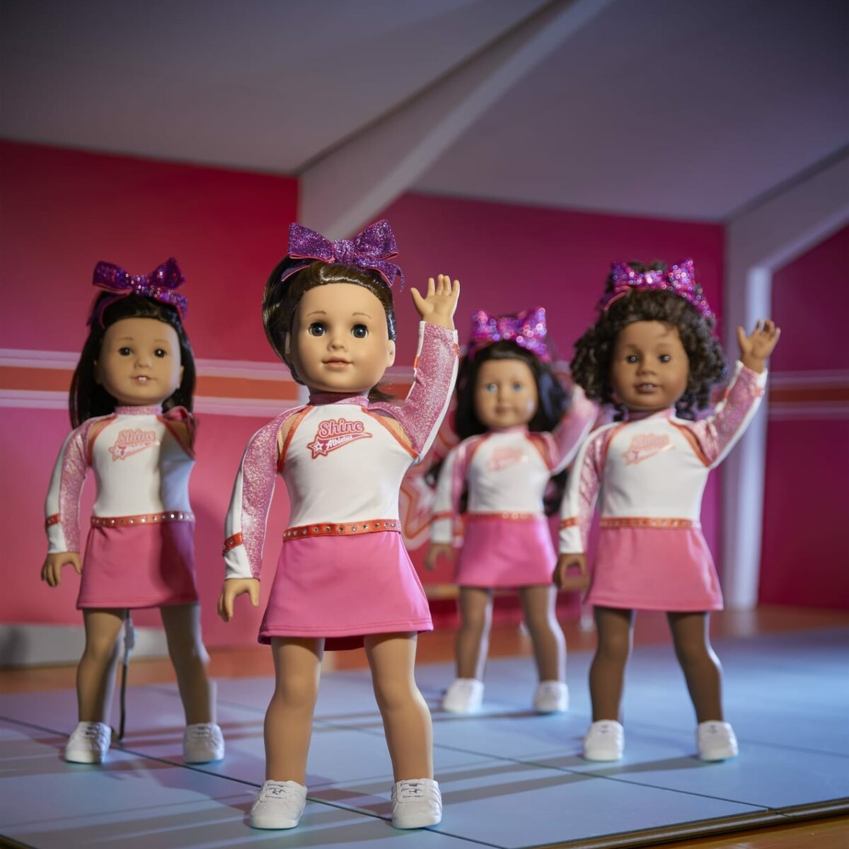 American Girl Doll Nfinity Competition Cheerleading Outfit NEW! Cheer Joss