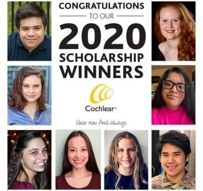 Cochlear Reveals Winners of Annual Scholarship Programs