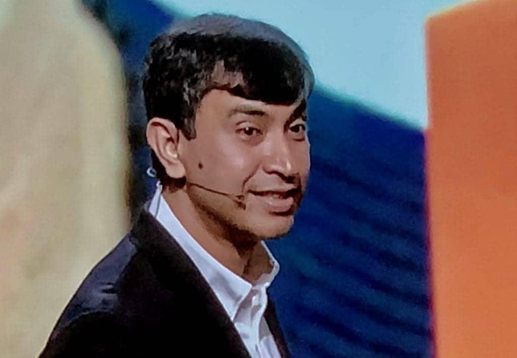 Achin Bhomik at Starkey Expo 2020