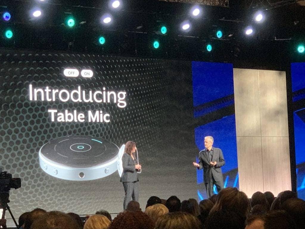 Starkey Table Mic launch