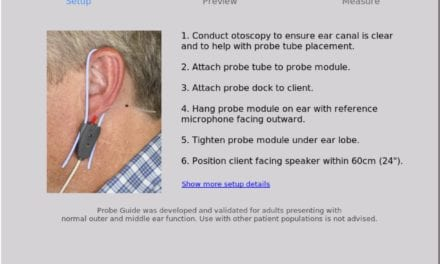 Evaluation Of Probe Guide: Software-assisted Probe Tube Placement In Hearing Aid Fittings