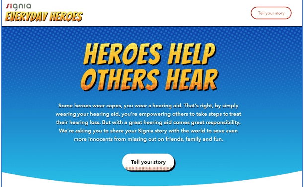 Signia Launches 'Everyday Heroes' Website on World Hearing Day