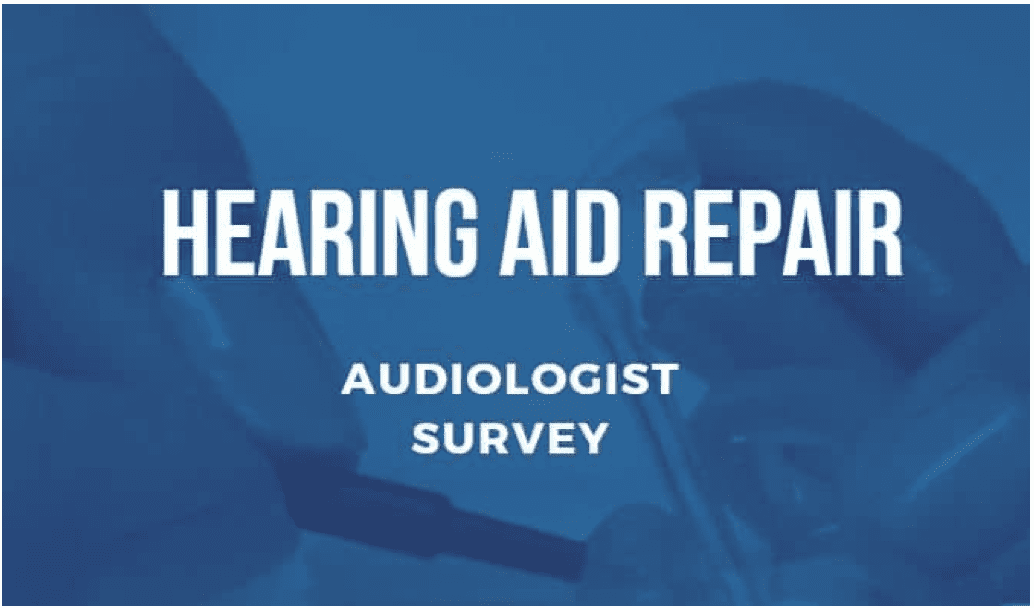 HHTM Releases Audiologist Hearing Aid Maintenance & Repair Survey
