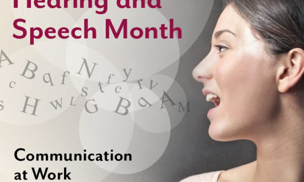 May is 'Better Hearing and Speech Month'