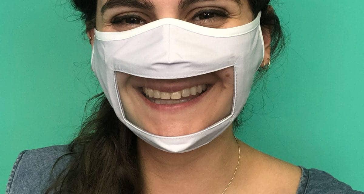 Rafi Nova Launches Clear-Panel 'Smile Mask'
