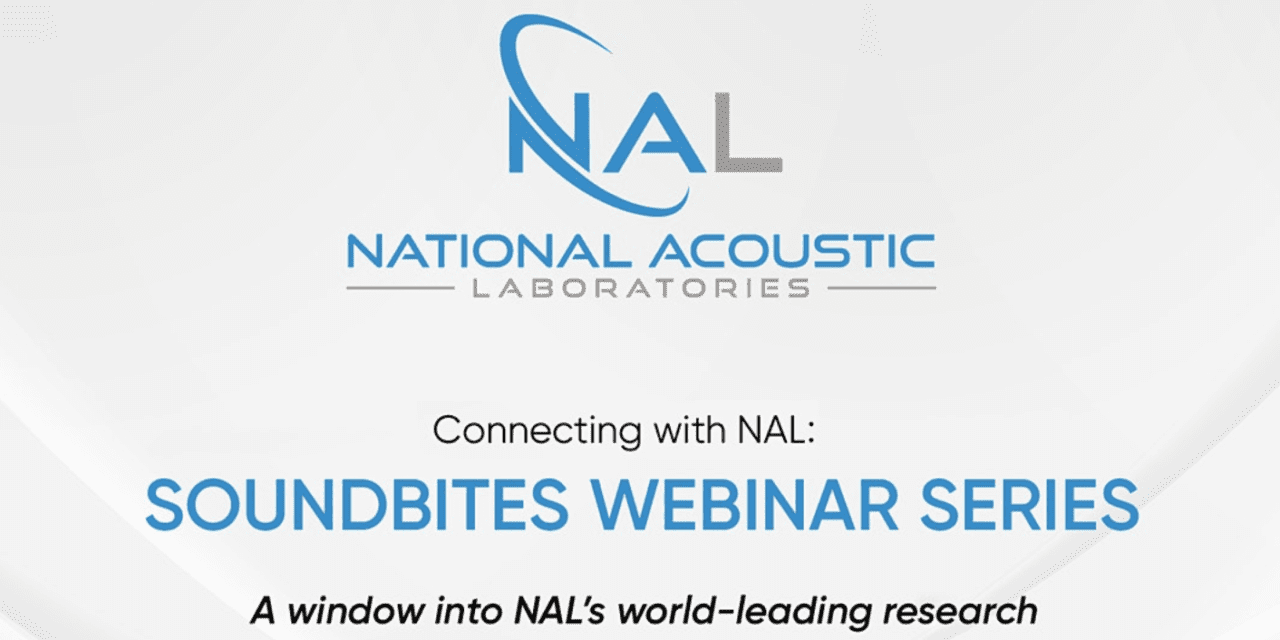 NAL Webinar on Hearing Aid Post-fitting to Take Place August 4