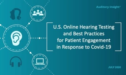 Auditory Insight Research Shows Online Hearing Tests May Not Encourage People to Seek Treatment with Hearing Aids