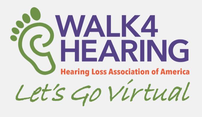 HLAA Announces Fall 2020 Virtual Walk4Hearing Events