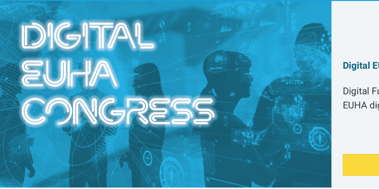 2020 Digital EUHA Congress Kicks Off October 9 with 'Digital Future Friday' Event