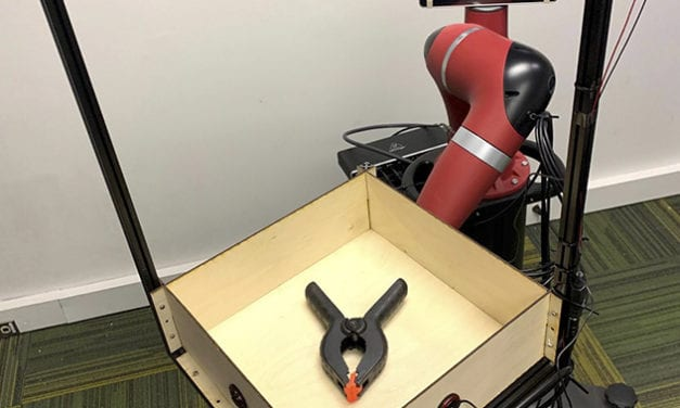 Researchers Find Robot Perception Improves by Adding Sound