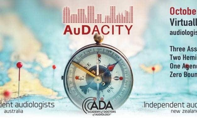 AuDacity 2020 Starts Friday Morning, October 16