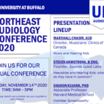 University at Buffalo to Hold Virtual 2020 Northeast Audiology Conference on November 14