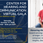 Center for Hearing and Communication to Hold 2020 Virtual Gala October 17
