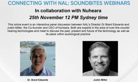 NAL Presents Interactive Panel with Nuheara to Discuss OTC Hearing Technology November 25