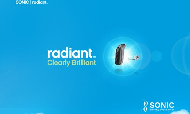 Sonic Launches Radiant Hearing Aid