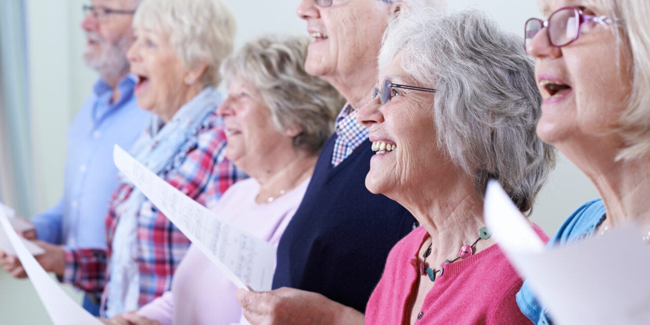 Choir Singing May Benefit Cognitive Functioning