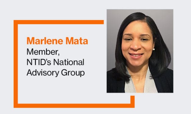 NTID Appoints New Member of National Advisory Group