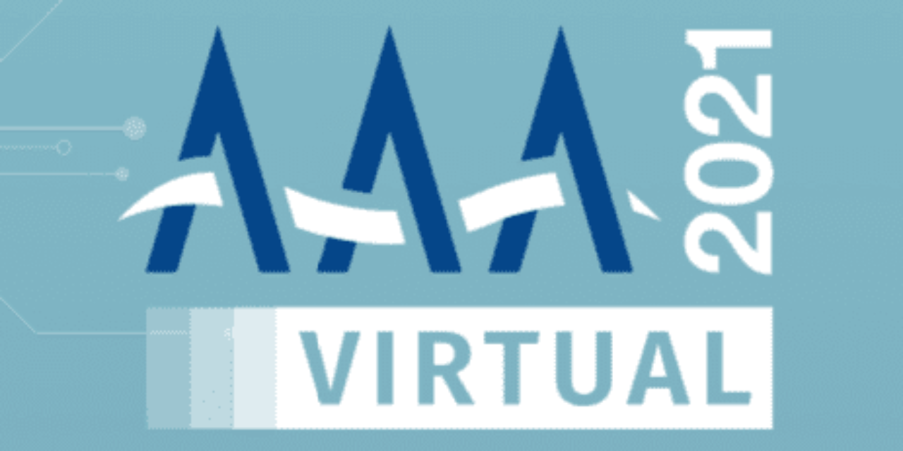 AAA 2021 Virtual Convention Starts on Wednesday, April 14!