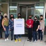 Sonova USA HQ Serves as Mass Vaccination Facility