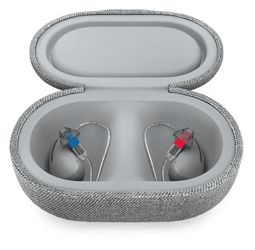 Bose SoundControl Hearing Aids in Case