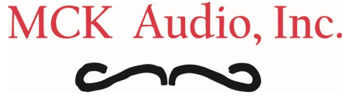 MCK Audio logo