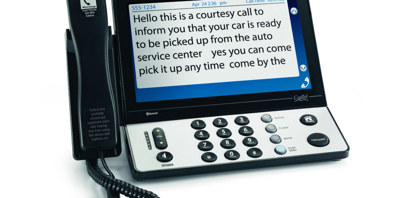 MID-YEAR PRODUCT REVIEW: Assistive Devices and Captioned Telephones