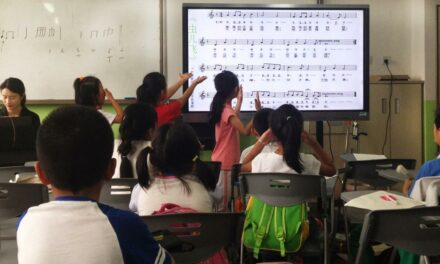 Learning New Language Affects Music Processing