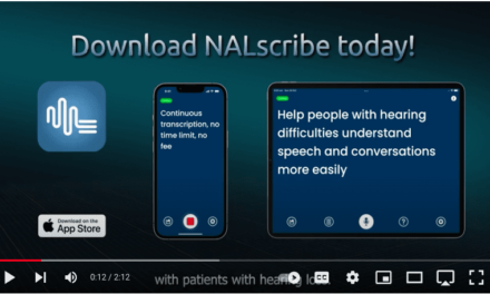 NALscribe App: Real-time Text to Help Overcome Mask and Hearing-Related Challenges